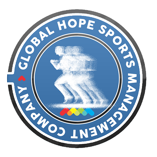 Global Hope Sports Management Company Sticky Logo
